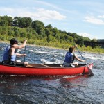 Canoeing the Delaware River
