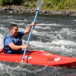 Kayaking the Mongaup Rapids